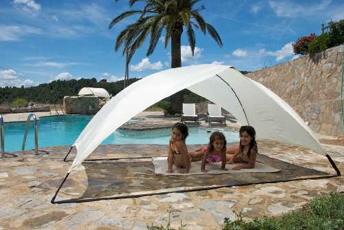 Skincom Solar Tent EASY FOR TWO Sun Tent Color: BEIGE