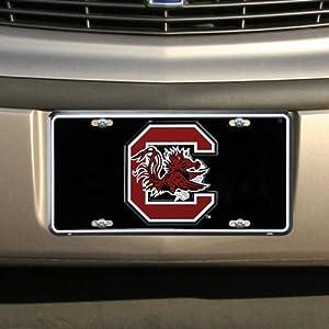 Buy South Carolina Gamecocks NCAA License Plate by Football Fanatics