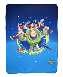 Cti 039419 Manta de Fleece Toy Story Explorer, 110 x 140 cm por CTI