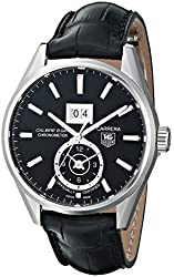 TAG Heuer Men's THWAR5010FC6266 Carrera Analog Display Swiss Automatic Black Watch