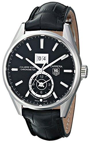 TAG-Heuer-Mens-THWAR5010FC6266-Carrera-Analog-Display-Swiss-Automatic-Black-Watch