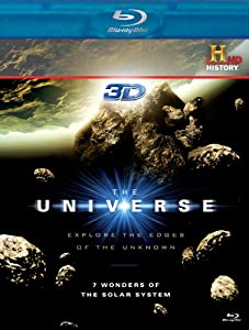 The Universe: 7 Wonders of the Solar System [Blu-ray 3D]