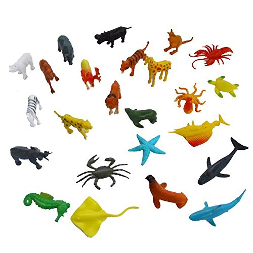 Dazzling-Toys-Under-the-Sea-and-Jungle-Life-Plastic-Animals-90-Pc-D161