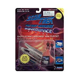 Star Trek the Next Generation Micro Machine Shuttlecraft Goddard Mini Playset