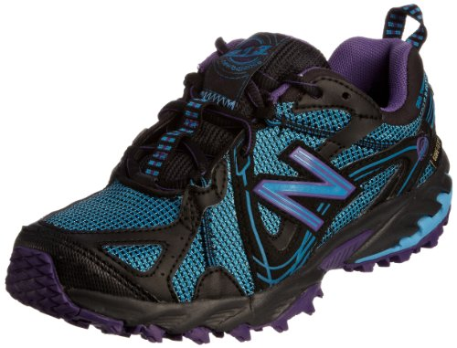 New Balance Women's WT573GTP Blue/Black/Purple Trainer 5 UK, 37.5 EU, 7 US B