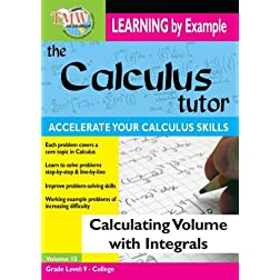 Calculus Tutor: Calculating Volume With Integrals