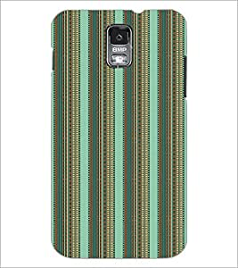 SAMSUNG GALAXY S4 MINI LINES PATTERN Designer Back Cover Case By PRINTSWAG