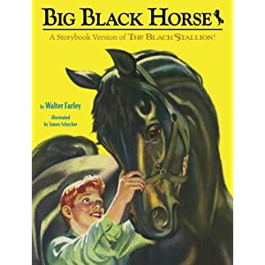 Big Black Horse: A Storybook Version of the Black Stallion