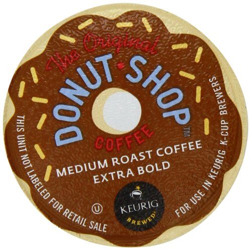 Donut Shop K-Cup packs for Keurig Brewers (Pack
