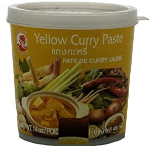 cock brand thai yellow curry paste 14 oz curry