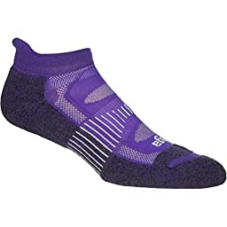 Balega Outdoor Blister Resist No Show - Purple ELECTRIC VIOLET Large