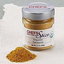 CHEFS Organic Turmeric Ground 22-ounces