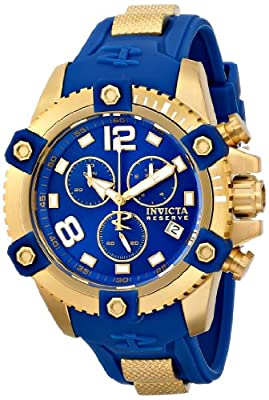 Invicta Men's 11173SYB Arsenal Analog Display Swiss Quartz Blue Watch