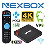 NEXBOX A95X Pro 1GB 8GB Android 6.0 TV Box S905X Quad-Core 4K Ultra-HD H265 VP9 WiFi