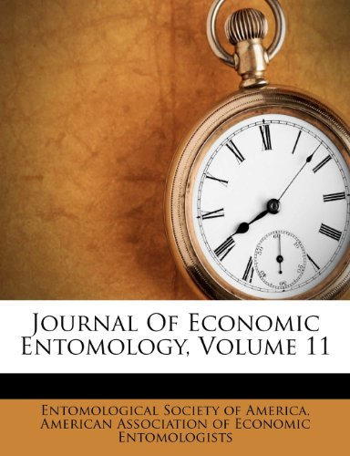 Journal Of Economic Entomology, Volume 11