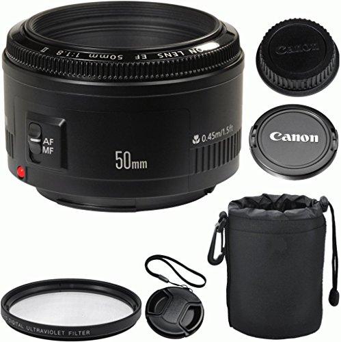 Canon EF 50mm f/1.8 II Autofocus Camera Lens
