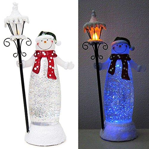 LED Street Light snowman (japan import)