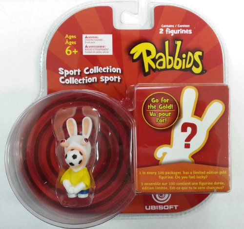 Rabbids in Sports - Soccer Figure / Plus One Mystery Figure