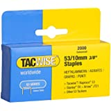 Tacwise Heavy Duty 53 Series Staples 10mm (2000)