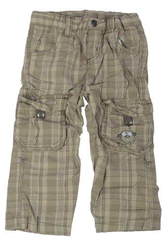 Unbekannt -  Pantaloni  - cargo - A quadri - Bebè maschietto Verde verde