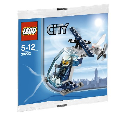 Lego City Police Helicopter 30222 - 1