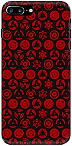 The Racoon Grip Sharingan Of The Uchiha hard plastic printed back case/cover for Apple Iphone 7 Plus