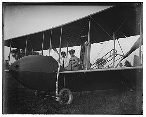 Photo: Wright Brothers,Katharine Wright,Wright Model HS Airplane,Orville Wright,1915 (Wright Brothers Model Airplane compare prices)