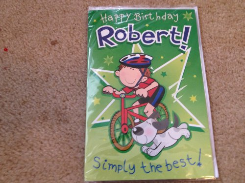 Happy Birthday Robert - Singing Birthday Card - 1