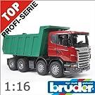 bruder ブルーダー 03550 SCANIA スカニア Tipup トラック 1/16