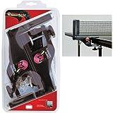 Martin Kilpatrick TP3000 MK Deluxe Table Tennis Net & Post Set (Color: Black)