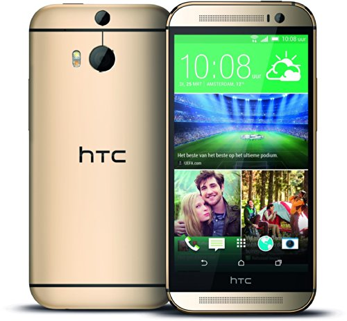 Htc One M8 32Gb At&T Unlocked Gsm 4G Lte Android Smartphone - Amber Gold