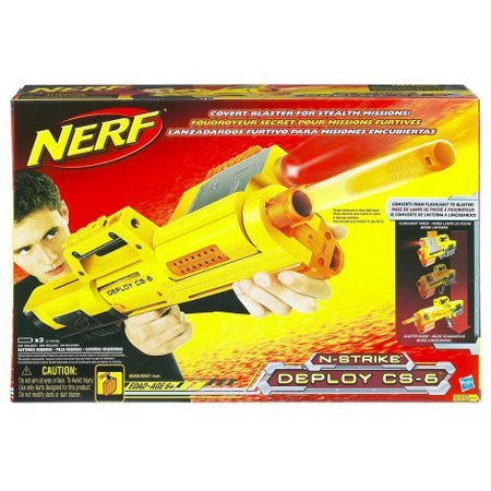 N-Strike Deploy CS-6 Blaster Nerf Sniper Rifle