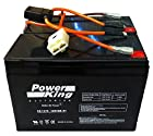 Razor 12 Volt 7Ah Electric Scooter Batteries High Performance - Set of 2 Includes New Wiring Harness Fits: Razor Dirt Quad Razor Dune Buggy Razor E500S Razor Ground Force Drifter Go Kart Razor Ground Force Go Kart Razor iMod Razor MX350 Dirt Rocket Razor MX400 Dirt Rocket Razor Pocket Mod (Bella, Betty, Bistro, Daisy, Hannah Montana, Kiki, Sweet Pea, & Vapor) Razor Pocket Rocket Razor Rebellion Chopper Razor Sport Mod