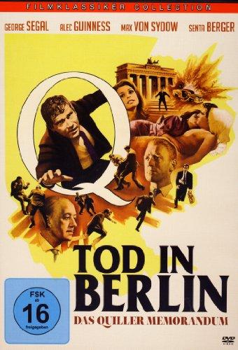 TOD IN BERLIN - Das Quiller Memorandum