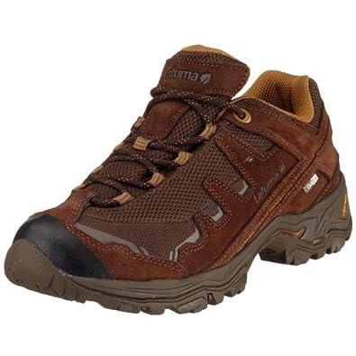 La Fuma - Zapatillas de deporte de cuero nobuck para hombre, color marrón, talla 40 2/3
