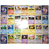 110 Bulk Collectible Pokemon Cards Party Favors