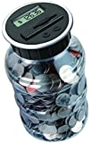 DE Digital Counting Coin Bank Savings Jar - Automatically Totals up Your Savings- Works with All U.S. Coins - (In Retail Packaging seen in product images)- 100% SATISFACTION GUARANTEED WHEN PURCHASED THROUGH FILLTECH!