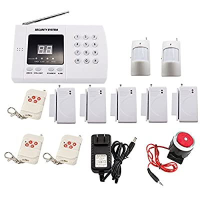 iMeshbean® 2016 Wireless Home Security Alarm System DIY Kit with Auto Dial & Outdoor Siren Model # 001 USA