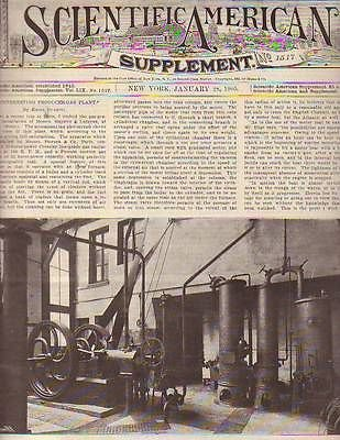 1905 Scientific American Supp January 28 - The Light Of The Stars; Telescopes