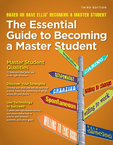 Aplia 1-Semester Instant Access Code for Ellis' Essential Guide to Becoming a Master Student