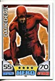 Marvel Hero Attax Common Card #55 Daredevil