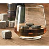 Whiskey Stones - Set of 9 Grey Whisky Stone Chilling Rocks with Muslin Carrying Pouch