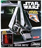 Star Wars Saga '06 Exclusive Vehicle Imperial Shuttle with Darth Vader & Red ...