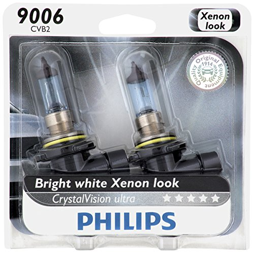 Philips 9006 CrystalVision Ultra Upgrade Headlight Bulb, 2 Pack (Headlight Bulb 9006 Led compare prices)