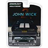 1970 Chevrolet Chevelle SS 396 John Wick Movie Chapter 2 (2017) Hollywood Series 18 1/64 Diecast Model Car by Greenlight 44780 F (Color: Green)