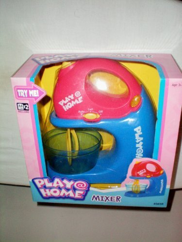 Play@Home Mixer -- Great Addition to Little Girls Easy Bake Oven Kitchen (Play Toaster Oven compare prices)