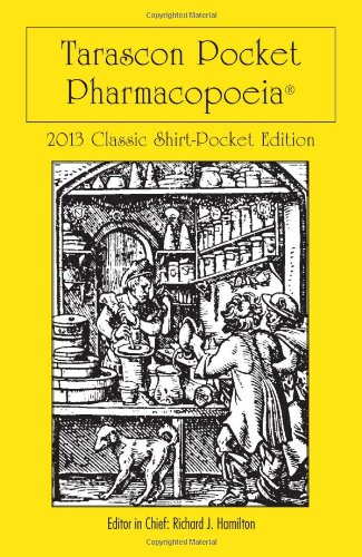 Tarascon Pocket Pharmacopoeia 2013 Classic Shirt Pocket Edition