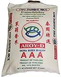 AROY-D Thai Jasmin-Reis [ 10 kg ] AAA Quality Thai Hom Mali...