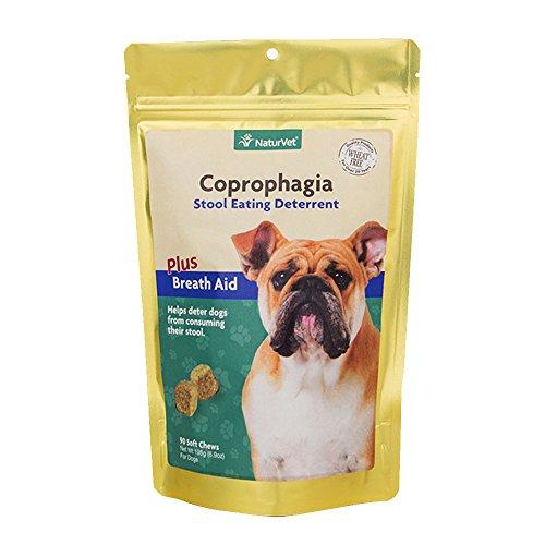 Naturvet Coprophagia Deterrent Soft Chews 90 Ct