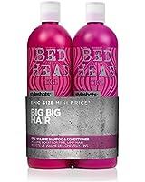 TIGI Bed Head Styleshots Epic Volume Shampoo and Conditioner Duo 2 x 750ml